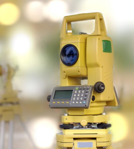construction and engineering surveyor tool, total station